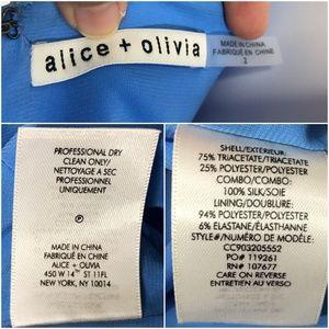 Alice + Olivia Dresses - Alice & Olivia Eliza Cowl Neck High Slit Maxi